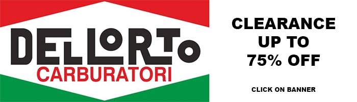 All Dellorto carburators and parts on sale