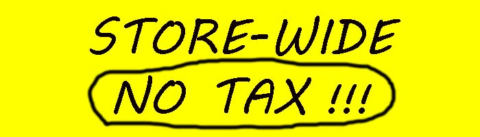 store-wide no tax