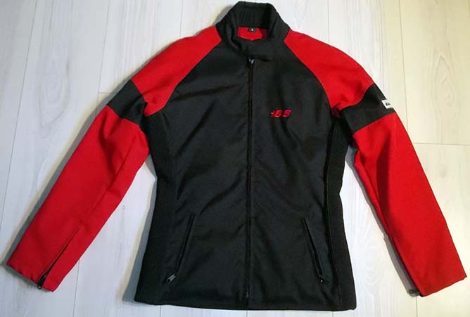 Hansa-bike-buddy-ladies-red-jacket-1