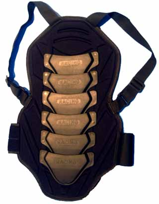 Racing - Back Protector 6 links