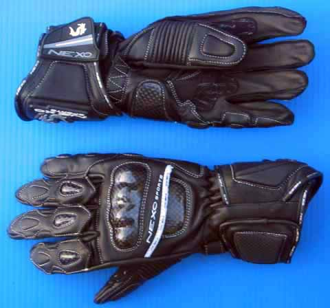 Nexo Sports Cobra PLUS Gloves Black / Black