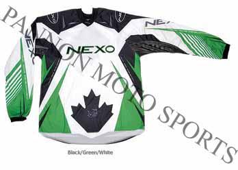 Nexo XTR Offroad Jersey Green